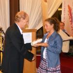Alessia Calò -anni 11 - di S. Giov. Rotondo: Premio giovanissimi