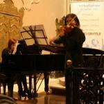 Simona Gialluisi - piano - Giuseppina Greco -  violino -