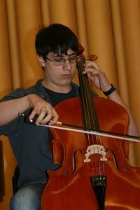 Alessandro Mastracci, violoncello, 1° classif.